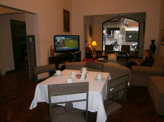 Delvino Boutique Hotel: comedor