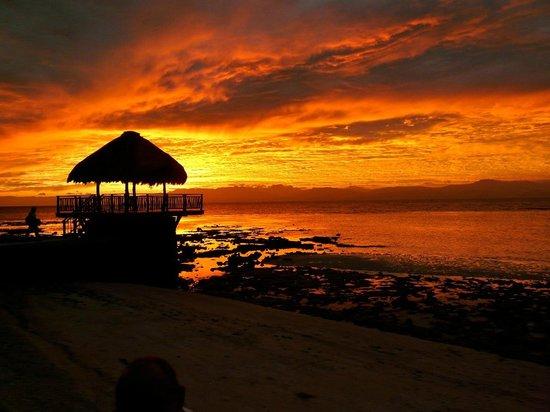 Les Maisons d'Itac: coucher de soleil