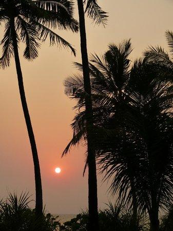 Amara Ocean Resort: coucher de soleil