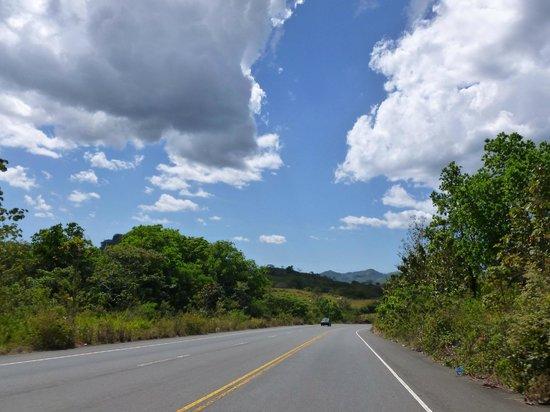 Come Fish Panama : Drive Panamerican Highway towards Chiriqui