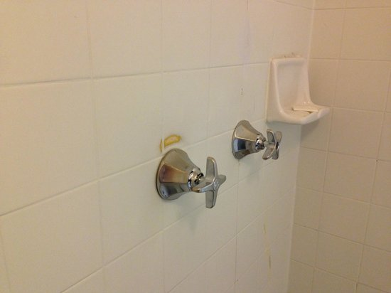 Travelodge San Francisco Airport North: Taps in the shower.