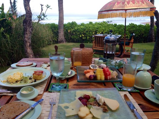 The Oberoi Bali: Frühstück im Oberoi