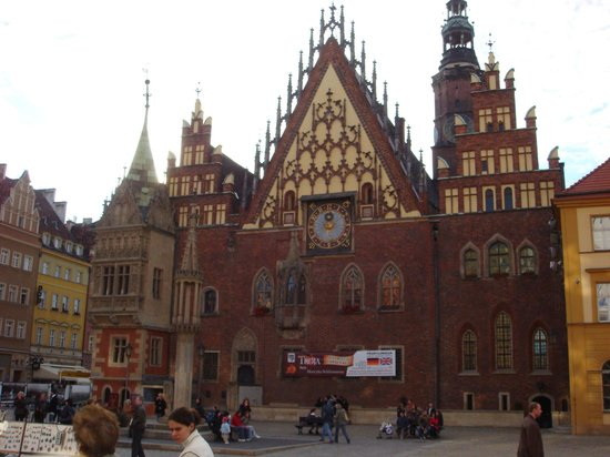 Place du marché (Rynek) : The Rathus; City Hall