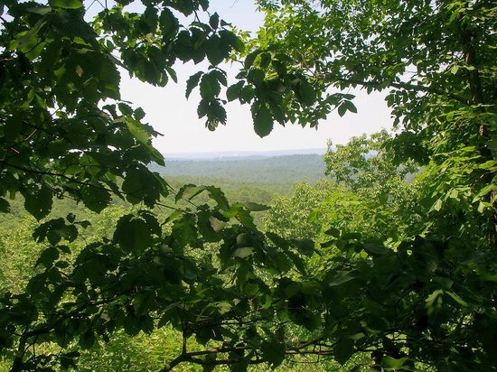 Oak Mountain State Park : The views from the Blue, White, and Yellow trails are breathtaking!