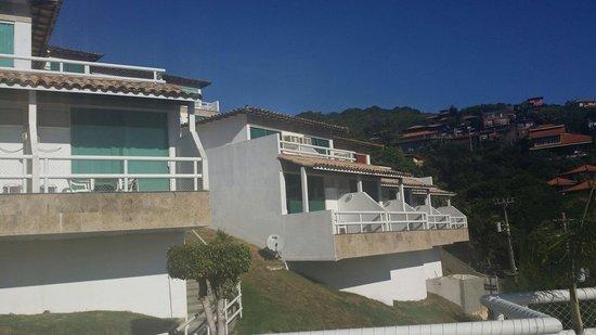 Hotel Pousada Experience Joao Fernandes : Todos os apartamentos com varanda