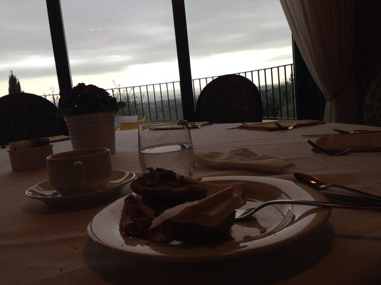 Villasanpaolo : 朝食