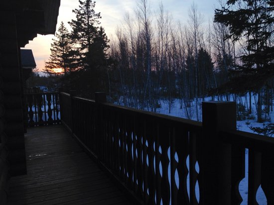 Haute Aboujagane, Kanada: View from Back Deck