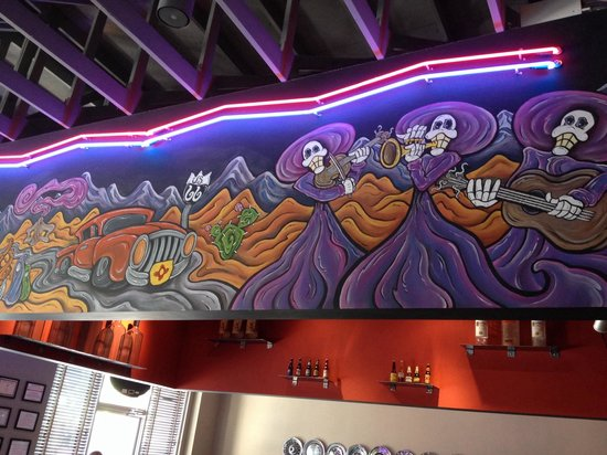 Plaza Cafe Southside: Mural 2