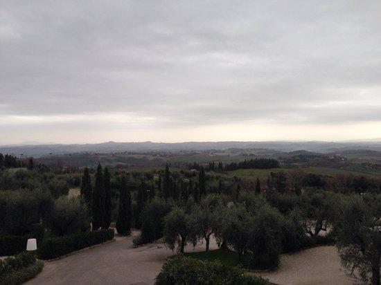 Villasanpaolo : ホテルからの景色