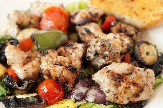 The Halfway Cafe: Chicken Kabob Salad