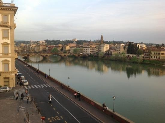 The St. Regis Florence : room with a view