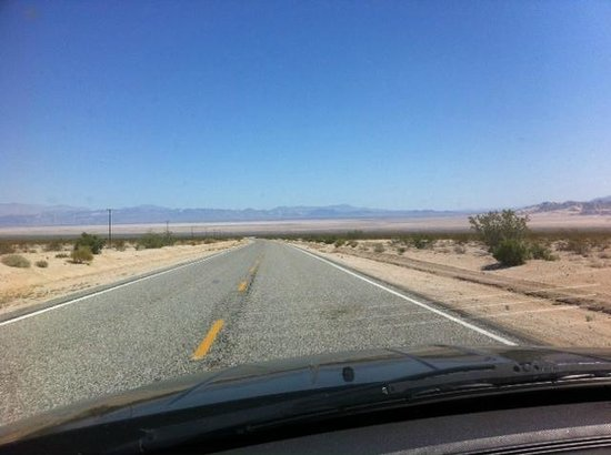 Mojave National Preserve: Along Amboy Rd 2