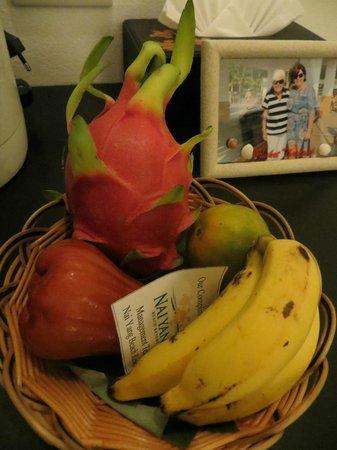 Nai Yang Beach Resort and Spa: Complimentary fruit basket