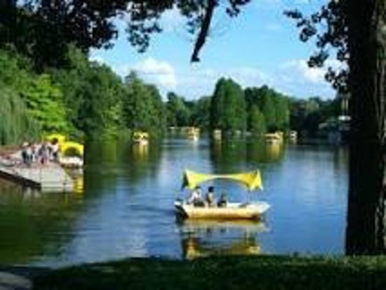 Luisenpark Mannheim : gondolettas