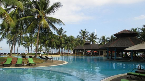 Sutera Harbour Resort (The Pacific Sutera & The Magellan Sutera): View of the Great Pool