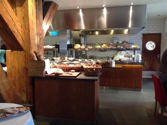 Copenhagen Admiral Hotel: colazione