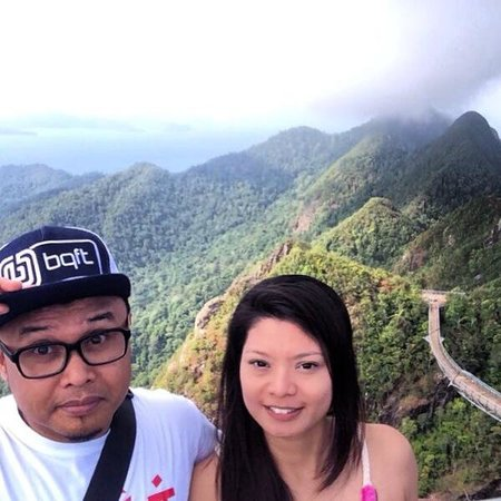 Gunung Mat Cincang: Sky Bridge closed