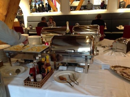 Copenhagen Admiral Hotel: sala colazione