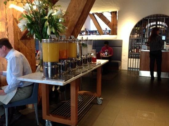Copenhagen Admiral Hotel: bevande