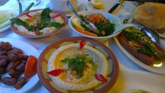 Al Hamra: Классика ливанской кухни