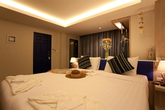 The Blue Pearl Kata Hotel : Delux room / Комната Делюкс