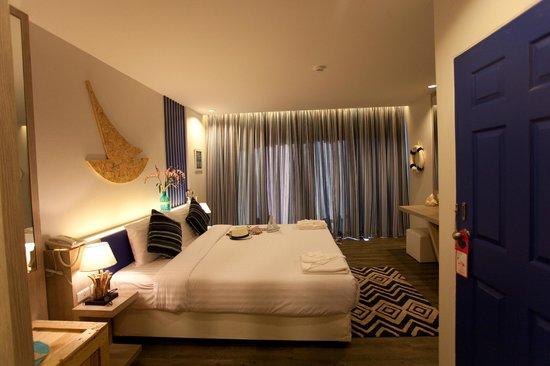 The Blue Pearl Kata Hotel : Superior room / Улучшенный номер