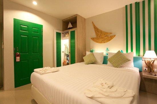 The Blue Pearl Kata Hotel : Standard room / Стандартный номер