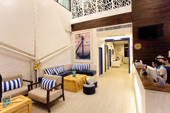 The Blue Pearl Kata Hotel : Lobby / Лобби