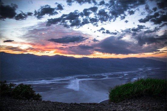Dante's View: Dantes view..7pm..sunset..April 12