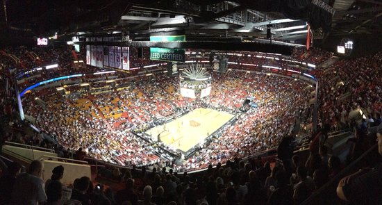 American Airlines Arena : Heat Game