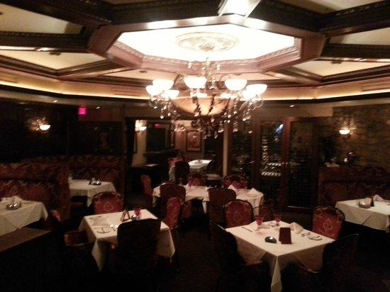 Crystal Bay Steak & Lobster House: front room