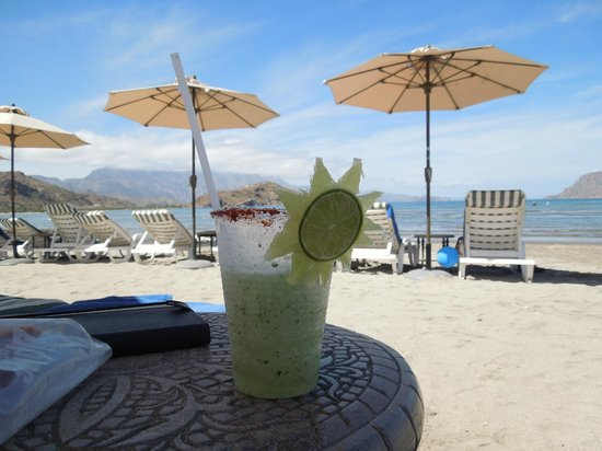 Villa del Palmar Beach Resort & Spa at The Islands of Loreto: Only the best margarita - EVER!
