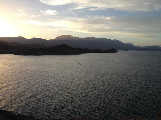 Villa del Palmar Beach Resort & Spa at The Islands of Loreto: Sunset view of islands of Loreto