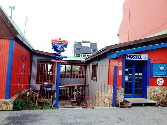 Cruz del Sur Independent Hostel: Fachada