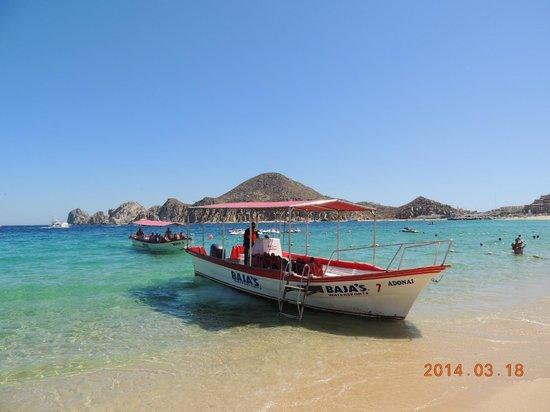 Medano Beach offers mutiple water activities.    3/2014