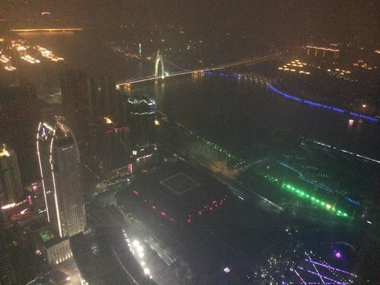 Four Seasons Hotel Guangzhou : View from 74th Floor