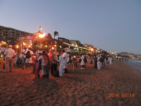 Medano Beach: People watching, day or night, in Medano proves entertaining.    3/2014