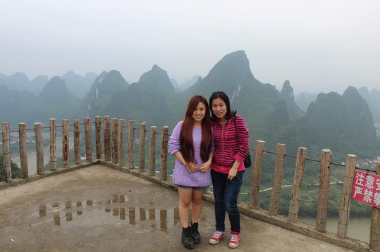 Wendy Wei Tours: View from the peak of XiangGong Mountain