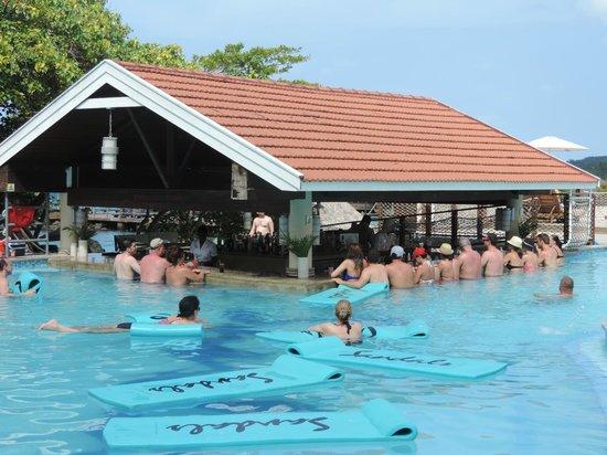 Sandals Ochi Beach Resort Club Pool And Bar