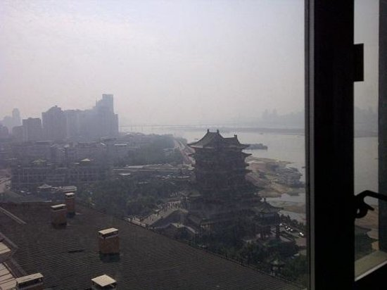 Gloria Grand Hotel Nanchang : View From Our Window