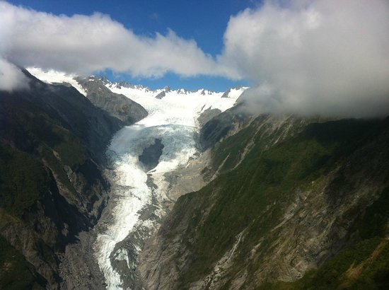Glacier Helicopters: Franz Josef Glacier (from helicopter)