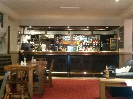 The Lochy: The bar (view from the restaurant)