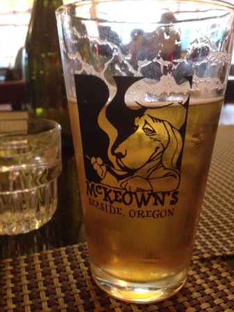 McKeown's : Refreshing pilsner... One of the many on tap!