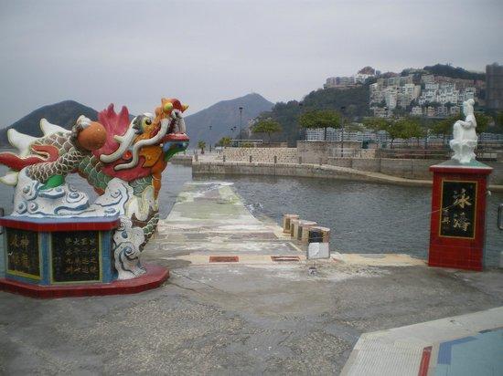 Tin Hau Temple: 竜宮城への入口