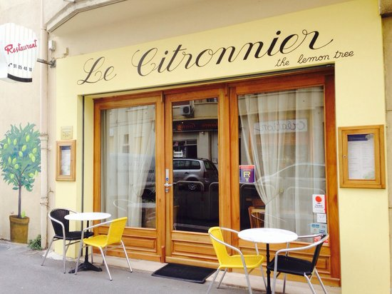 Le Citronnier: La façade