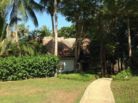 Nirwana Gardens - Indra Maya Pool Villas: Sea-View Pool Villas are not Sea View!