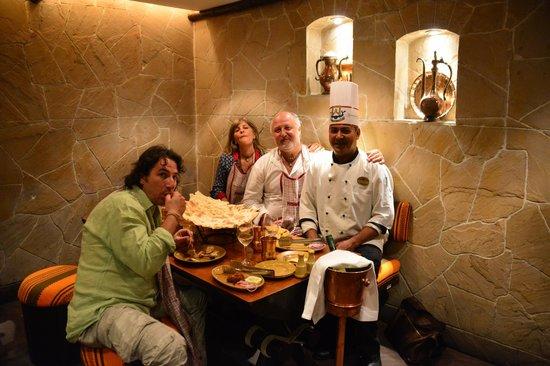 Peshawri: foto con lo chef