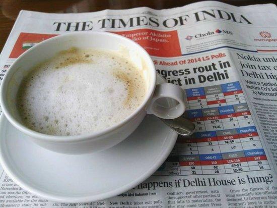 Hyatt Regency Chennai: Morning Coffee