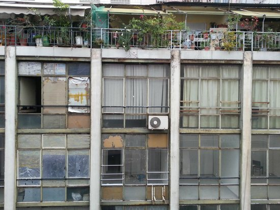 Marina Hotel Athens : panorama dalla camera