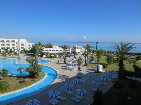 Mahdia Palace Thalasso: Schöner Ausblick vom Balkon